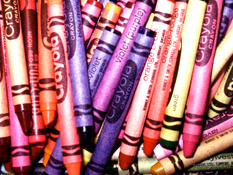 Colour in Crayon by Christeen Thornton
