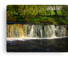 Wainwath Force at Keld -Yorkshire Dales Canvas Print