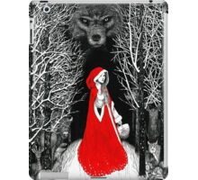 Red Riding Hood and the Big Bad Wolf iPad Case/Skin