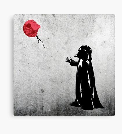 Little Vader Canvas Print