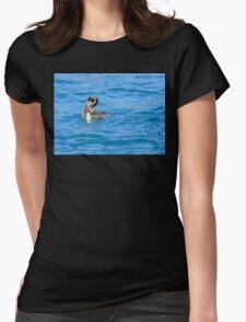 An Opportunity - Shag & Blue Cod - NZ Womens Fitted T-Shirt