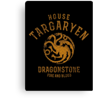 HOUSE TARGARYEN 1 Canvas Print