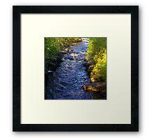 River Swale at Keld - Yorkshire Dales Framed Print