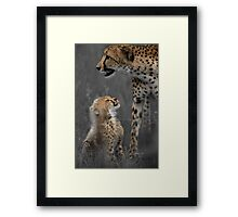 Here's looking at you mom Framed Print
