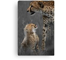 Here's looking at you mom Canvas Print