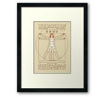 Vitruvian Leeloo Framed Print