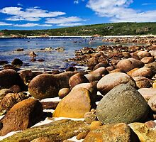 Rocky Beach by Jan Fijolek