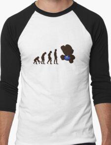 Evolution Mario Men's Baseball ¾ T-Shirt