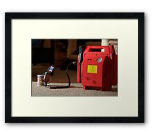 line to the 21st Framed Print