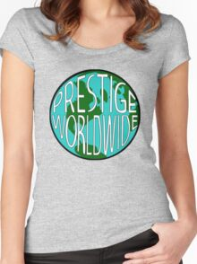 Step Brothers: Prestige Worldwide Women's Fitted Scoop T-Shirt