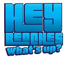 HEY BEACHES what's UP? Photographic Print