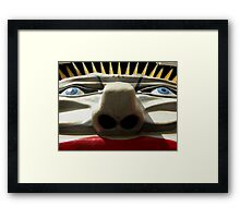 Lunatic Park by Ricky Framed Print