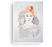 Red Headed Portrait Canvas Print