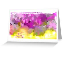 Spring - Abstract Greeting Card