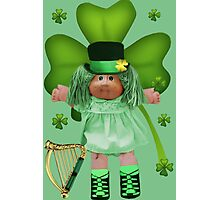 CABBAGE PATCH DOLL GOES IRISH Photographic Print