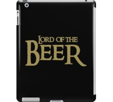 Lord of the BEER iPad Case/Skin