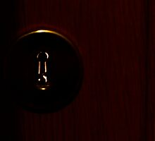 Key in a key hole by Francesca Rizzo