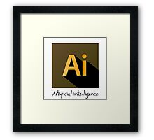ADOBE ARTIFICIAL INTELLIGENCE Framed Print