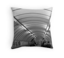 Down The Tube Throw Pillow