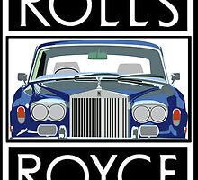 Rolls Royce Silver Shadow logo (Black) by Rorymacve