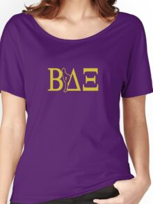 Beta Delta Xi - American Pie Women's Relaxed Fit T-Shirt