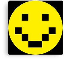 Pixel Smile Canvas Print