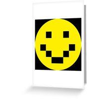 Pixel Smile Greeting Card