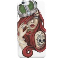 Old school Queen iPhone Case/Skin