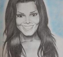 Janet Jackson by Brooke Shane