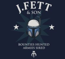 J.Fett & Son - Bounties Hunted, Armies Sired Kids Clothes