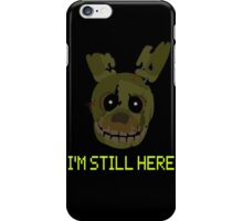 five nights at freddy's 3 - springtrap iPhone Case/Skin