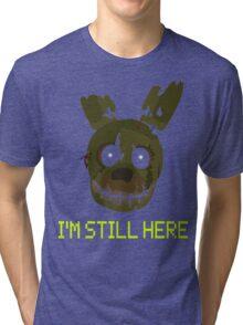 five nights at freddy's 3 - springtrap Tri-blend T-Shirt