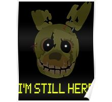 five nights at freddy's 3 - springtrap Poster