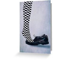 tip toes Greeting Card