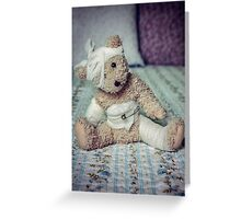 Give me some comfort! Greeting Card