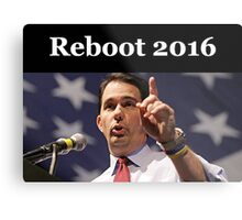 Scott Walker for President 2016 Metal Print