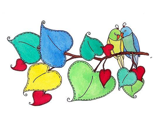 Love Birds II by tiffjamaica