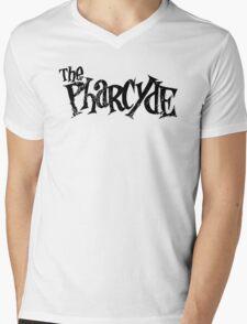 The Pharycide Black Mens V-Neck T-Shirt