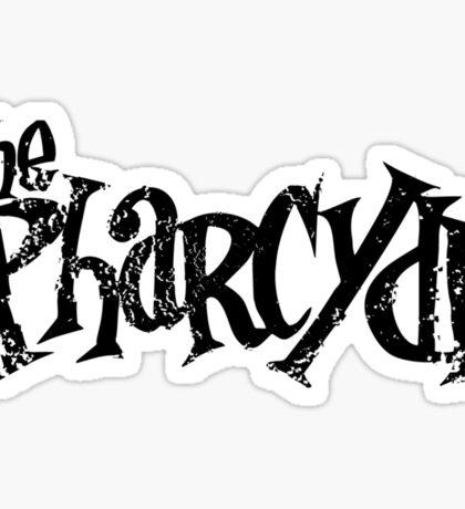 The Pharycide Black Sticker