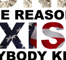 National Anthem Sticker