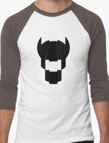 Batman Design Black Men's Baseball ¾ T-Shirt