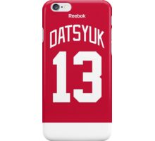 Detroit Red Wings Pavel Datsyuk Jersey Back Phone Case iPhone Case/Skin