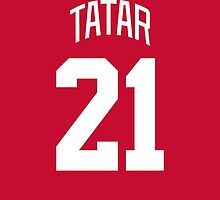 Detroit Red Wings Tomáš Tatar Jersey Back Phone Case by Russ Jericho