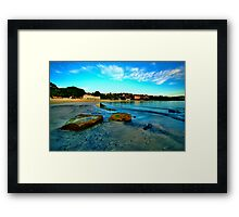 Blue Dawn - Balmoral Beach - The HDR Experience Framed Print