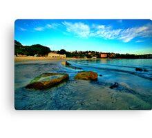 Blue Dawn - Balmoral Beach - The HDR Experience Canvas Print