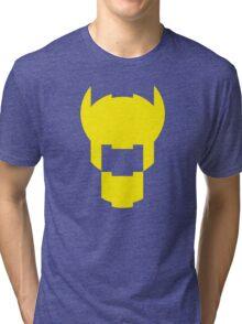 Batman Design Yellow Tri-blend T-Shirt
