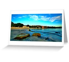 On The  Rocks - Balmoral Beach, Sydney - The HDR Experiencee Greeting Card