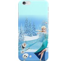 Olaf and Elsa iPhone Case/Skin