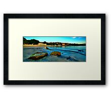 Blue Dawn - The Photographers Cut - Balmoral Beach - The HDR Experience Framed Print