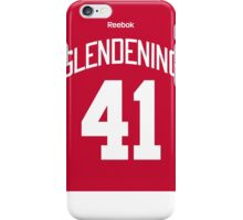 Detroit Red Wings Luke Glendening Jersey Back Phone Case iPhone Case/Skin